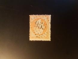 N°23, 40 Cts Orange, GC 955 Chatellerault, Vienne. - 1849-1876: Classic Period