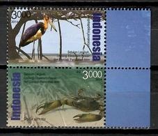 Indonesia 2014 / Birds Crabs MNH Vögel Aves Cangrejos Oiseaux / Cu10636  34-2 - Unclassified