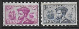 France -  N° 296 Et 297 * *   - Cote : 300 € - France
