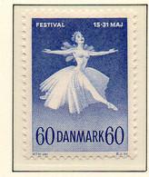PIA - DANIMARCA -1962 : Festival Di Musica A Copenhagen - Balletto   - (Yv 411a) - Danimarca