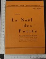 """DH. 96.  Programme La Dramatique """"Renaissance"""" Des Frères à Ath - Programas"""