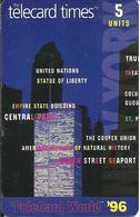 USA: Cable & Wireless - TeleCard World '96 Exposition New York. - Vereinigte Staaten
