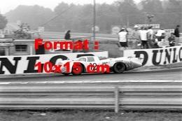 Reproduction D'une Photographie Ancienne De La Porsche 917LH Aux 24 Heures Du Mans De 1969 - Reproductions