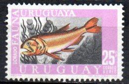 URUGUAY 1968 Air. Uruguayan Marine Fauna - 25p Dorado  MNG - Uruguay