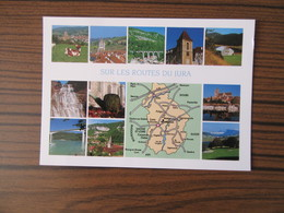 Contour Géographique Du Jura - Maps