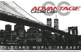 USA: B & J Telecard - TeleCard World '96 Exposition New York. - Vereinigte Staaten