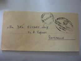 """Piego Viaggiato Per Battipaglia  """"Sezione Tesoreria Provinciale Dello Stato Salerno"""" - 6. 1946-.. Repubblica"""