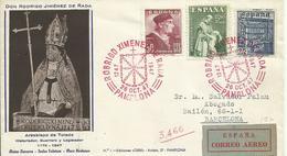 ESPAÑA  SOBRE HOMENAJE RODRIGO JIMENEZ DE RADA - 1931-50 Cartas