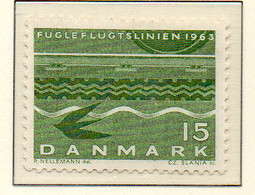 PIA - DANIMARCA -1963 : Ferry-boat Danimarca-Germania   - (Yv 426a) - Danimarca