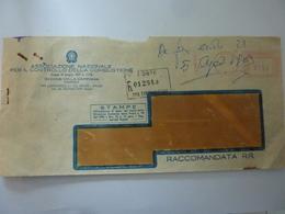 """Busta Raccomandata """"ASSOCIAZIONE NAZIONALE PER IL CONTROLLO DELLA COMBUSTIONE ROMA"""" 1969 - 6. 1946-.. Repubblica"""