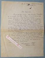 L.A.S 1952 Maurice FELTIN Archevêque Paris - Aix Les Bains Hôtel Britannique à Maurice Rostand Lettre à Dieu Autographe - Autographes