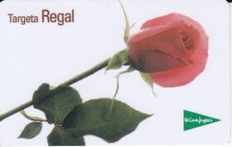 TARJETA DE REGALO DE EL CORTE INGLES ROSA (GIFTCARD) CATALAN - Tarjetas Telefónicas