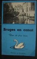 DH. 82. Bruges En Canot. Rien De Plus Beau Par Edmond Coucke - Dépliants Touristiques