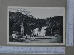 ANGOLA - QUEDAS DO BINGA -  NOVO REDONDO -   2 SCANS  - (Nº27295) - Angola