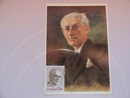 CARTE MAXIMUM CARD MAURICE RAVEL MONACO - Beroemde Personen