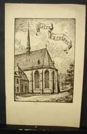 DH. 62. Petit Guide Du Visiteur De L'église Et Du Cloître De L'Abbaye De La Cambre - Historical Documents