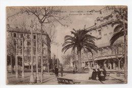 - CPA ANTIBES (06) - Place Macé - Avenue De La Gare (avec Personnages) - Edition Giletta 2008 - - Autres