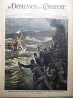 La Domenica Del Corriere 9 Gennaio 1910 Tolstoi Andrew Carnegie Farnese Ademollo - Books, Magazines, Comics