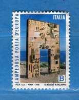 Italia °- 2018 - LAMPEDUSA PORTA D'EUROPA. Vedi Descrizione. - 6. 1946-.. Repubblica