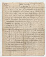 Lettre , Condamné à Mort, Prison De FRESNES ,1948,cachet : PRISONS DE FRESNES ,CENSURE ,4 Scans, Frais Fr 1.65 E - Non Classés