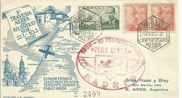 ESPAÑA, SOBRE HOMENAJE TRAVESIA AEREA DEL ATLANTICO SUR - 1931-Hoy: 2ª República - ... Juan Carlos I