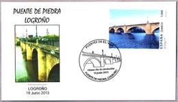 PUENTE DE PIEDRA - LOGROÑO. SPD/FDC Logroño, La Rioja, 2013 - Puentes