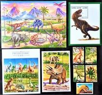 # Sierra Leone 1998**Mi.3006-24 Prehistorics Animals , MNH  [23,8] - Prehistóricos