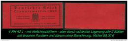 Sauberes MH - Mi. Nr. 42.1 - Erhaltung Siehe Scan - Deutschland