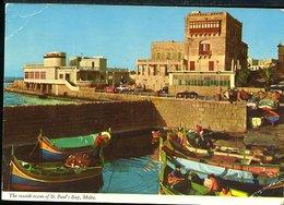 WD303  MALTA  - THE SEASIDE RESORT OF ST PAUL'S BAY - Malta