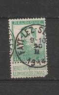 COB 121 Oblitéré FAYT - LEZ - SENEFFE - 1912 Pellens