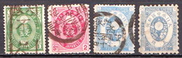 Japan Used Set From 1883 - Japan