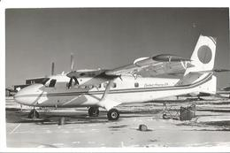 PHOTO AVION DE HAVILLAND  DHC 6 CONTACT AIRWAYS LTD C-GENT  13X9CM - 1946-....: Era Moderna