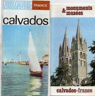 Lot De Dépliants Touristiques De Normandie -  Calvados - Manche  - Seine Maritime -  Années 70/80 - Dépliants Touristiques