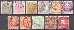 Japan Used Set From 1888 - Japan