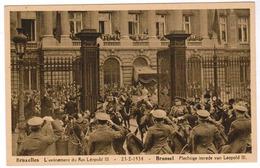 Brussel, Bruxelles, L'Avenement Du Roi Léopold III, Plechtige Intrede Van Leopold III (pk52946) - Feesten En Evenementen