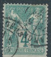 N°63 BEAU CACHET A DATE. - 1876-1878 Sage (Type I)