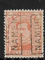 Namen  1922 Nr. 2789A - Vorfrankiert