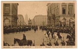 Brussel, Bruxelles, L'Avenement Du Roi Léopold III, Plechtige Intrede Van Leopold III (pk52948) - Fêtes, événements
