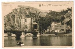 Dinant En 1921, La Citadelle, L'Eglise Et Le Pont (pk52949) - Dinant