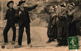 LE BOURBONNAIS - LE DEPART DU FIANCE - France