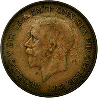 Monnaie, Grande-Bretagne, George V, Penny, 1934, TB+, Bronze, KM:838 - 1902-1971 : Monnaies Post-Victoriennes