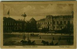 ROMANIA - BUCHAREST / BUCUREȘTI - PALATUL REGAL - 1920s (BG2097) - Roumanie