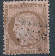 N°58  NUANCE ET OBLITERATION. - 1871-1875 Ceres