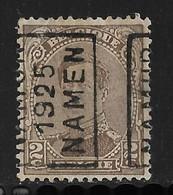 Namen  1925 Nr. 3443A - Vorfrankiert