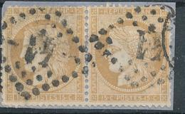N°59 X 2  NUANCE ET OBLITERATION. - 1871-1875 Ceres