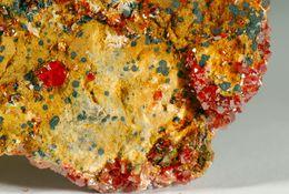 Mineral - Vanadinite Con Calcite (Mibladen Marocco) - Lot.5 - Minéraux