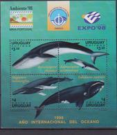 Uruguay - Expo Unesco Whale Balene Sheet MNH - UNESCO