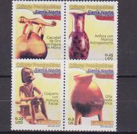 Ecuador 1736/39 2003 Culturas Precolombinas De Sierra Norte MNH - Archéologie
