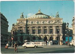 Paris: SIMCA 1100, MOPED, SCOOTER - Place De L'Opéra - Toerisme