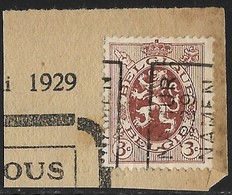Namen  1929 Nr. 5034A Op Fragment - Vorfrankiert